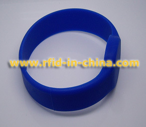 Технология RFID ISO14443 Re-Wearable Запястный Ремешок / Браслет-11 для контроля доступа