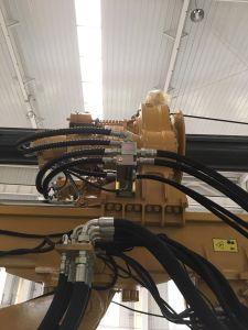 De Installatie van de boring voor de Bouw van de Techniek van de Stichting van de Stapel met Dieselmotor
