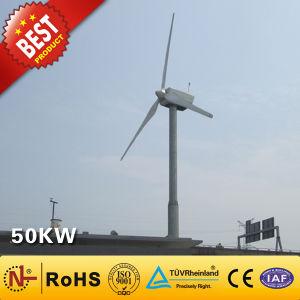 Turbina de viento / generador de energía eólica (50kW).