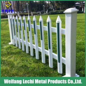 Revêtement en poudre la preuve de l'eau colorée clôture PVC en plastique de sécurité pour le résidentiel Maison et jardin
