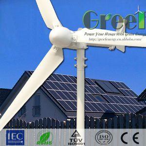 Démarrage basse vitesse du vent 15kw Rooftuse horizontale pour l'éolienne