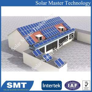L'aluminium anodisé panneau solaire toit de tuiles accrochez les supports de montage
