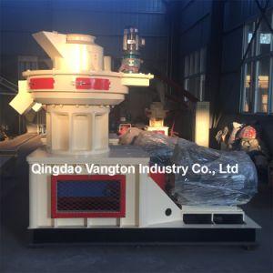 À la verticale de biomasse/bois/paille de riz/presse à granulés de sciure de bois pour la vente