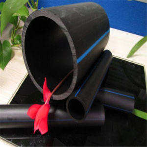 De HDPE Tubo de água de plástico para sistema de irrigação agrícola