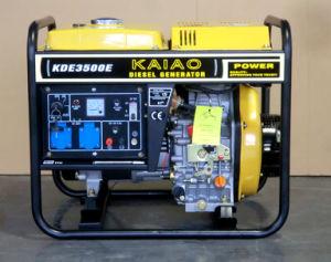 3KW uso residencial do conjunto de geradores a diesel pequenos KAIAO Estilo Kipor Gerador