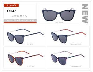 De nieuwe Zonnebril van het Frame van de Orde van de Acetaat van de Voorraad van het Product van de Stijl In het groot Klaar Kleine