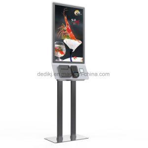 대중음식점과 호텔을%s Dedi 32inch 접촉 스크린 각자 서비스 지불 간이 건축물