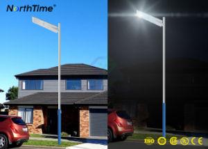 40W Lámpara Solar integrada Calle luz LED con sensor de movimiento