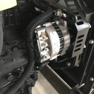 A cor preta diferentes Powered 30kw Janelas Insonorizadas gerador diesel