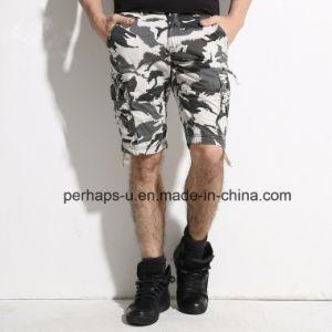 Mens freddo Cargo Shorts con Camo Print