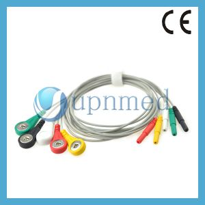 DIN Style 5, с защелкой, Leadwires отведений IEC
