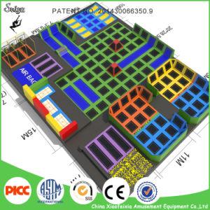 الصين يقود [ترمبولين] صاحب مصنع كبير داخليّة [ترمبولين] متنزّه لعب