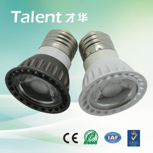 E27 5W 3000k LED COB Light mit Aluminum House