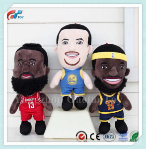 La conception de dessins animés de la NBA un jouet en peluche Doll