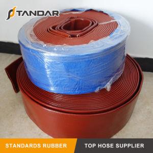 Layflat de PVC de alta pressão da mangueira de descarga de água para a agricultura