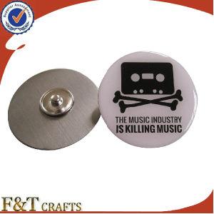 熱いSales Custom Stainless Steel Printing Logo BadgeかCustom Metal Logo Pins