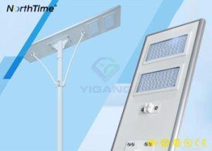 Angeschaltene Licht-Betriebsintelligente LED Solarstraßenlaternen der hohen Leistungsfähigkeits-