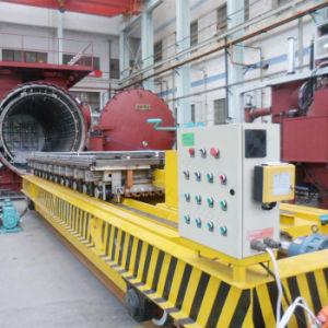 Обработки материала под действием электропривода передачи вагон с VFD устройства на направляющих