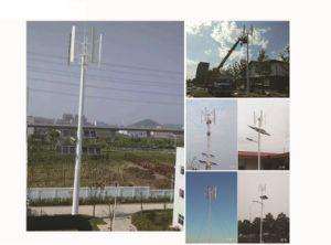 100W generatore di vento verticale di CA 12V/24 piccolo per il lampione