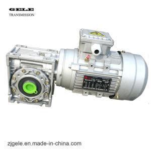 Série Nmrv ver d'Engrenage Réducteur de vitesse boîte de vitesses avec 380V 50Hz AC Moteur électrique