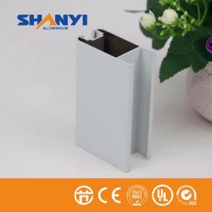 Revestimiento en polvo blanco OEM de materiales de construcción 6063 T5 Extruted perfil de aluminio