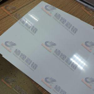 Feuille en aluminium d'enduit de couleur de PE/PVDF pour le panneau sandwich