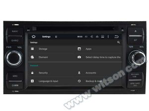 Automobile DVD GPS del Android 5.1 di Witson per Ford Focus 2012