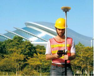 O levantamento de instrumentos Rtk Gnss/GPS Hi-Target V90 Plus Pesquisa de inclinação do instrumento de levantamento do GNSS para venda