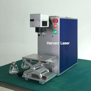 CNC de Draagbare Laser die van het Handvat het Materiaal van de Machine van de Gravure merken