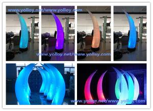 装飾的な結婚式のための膨脹可能な角の気球の照明