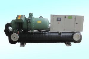 Resfriado a água de água da bomba de calor geotérmico Chiller de Agua