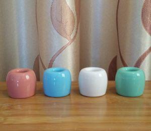 Support de brosse sanitaires en céramique des accessoires de toilette (BS308)