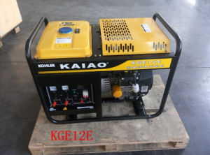 AC Single Phase 50Hz/10kw Key Start Petrol Generator met KOHLER Engine