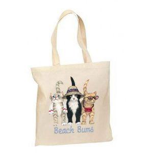 Designer grand centre commercial de sacs à main en toile de coton pour les femmes Sac à bandoulière sacs de magasinage (CTB-1032)