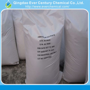Utilisation de l'agriculture'engrais au nitrate 2-4mm blanc Crystal sulfate d'ammonium