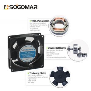 Ventilador de radiación 92x92x25mm el cojinete de manguito 220-240 V AC 50/60Hz