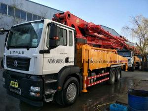 販売のためのトラックによって取付けられる具体的なセメントブームポンプトラック