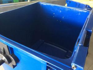 永続的な公共の灰皿の永続的な上のショッピングモールのための開いたプラスチックごみ箱のゴミ箱