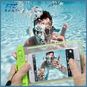 水泳のための浮揚性の防水携帯電話袋