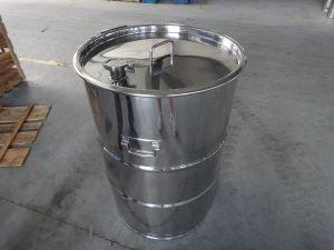Senza coperchio 200 litri & timpano d'acciaio della Closed-Parte superiore