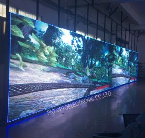 P10 haute résolution couleur Outdoor Afficheur à LED avec panneau en aluminium