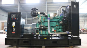 Centrale elettrica diesel 750kw/937kVA con Cummins Engine, ATS, 4protection