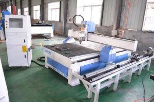 Router di legno di CNC del Engraver di CNC di 4 assi con rotativo