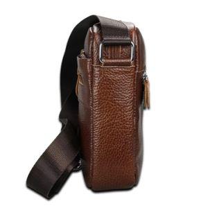 Мода кожаные сумки через плечо мешок Crossbody мини-Сумка почтальона для мужчин