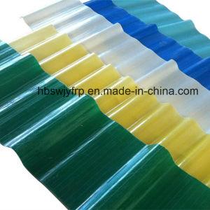 Les panneaux de toiture en carton ondulé en fibre de verre feuille en plastique