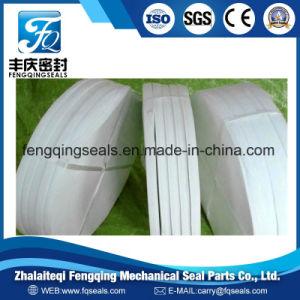 Чистого белого тефлона направляющую планку Ringwear газа кольцо тефлоновую ленту