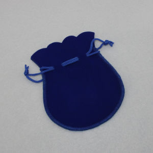 卸し売り創造的な型抜きされたドローストリングのビロードの宝石類のギフトの袋袋