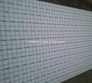 電流を通された正方形の網の構築のパネル