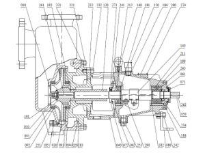 A série ZX Auto Hemical Escorva da Bomba de óleo para a indústria
