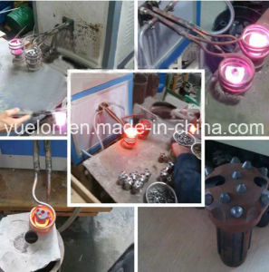 ドリル棒のための高周波誘導加熱ろう付け装置